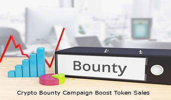 Crypto Bounty Campaign Boosts Token Sales